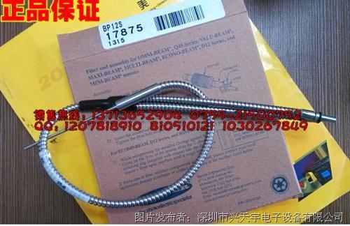 邦纳 BP12S特殊高温光纤线热电偶