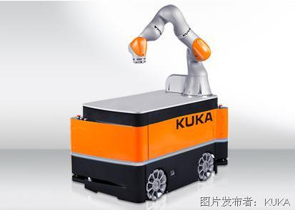 KUKA 库卡 KMR IIWA 智能型工业作业助手