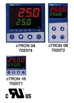 JUMO cTRON 16/08/04 -带计时器和斜坡功能的紧凑型智能控制器