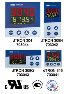 JUMO dTRON 304/308/316紧凑型可编程调节器