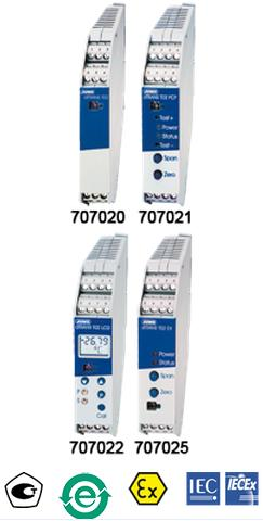 JUMO dTRANS T02 可编程四线制温度变送器