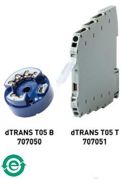 JUMO dTRANS T05-可编程两线制温度变送器
