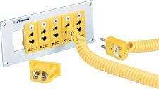 OMEGA SPJ和UPJ系列標準卡裝式面板插座