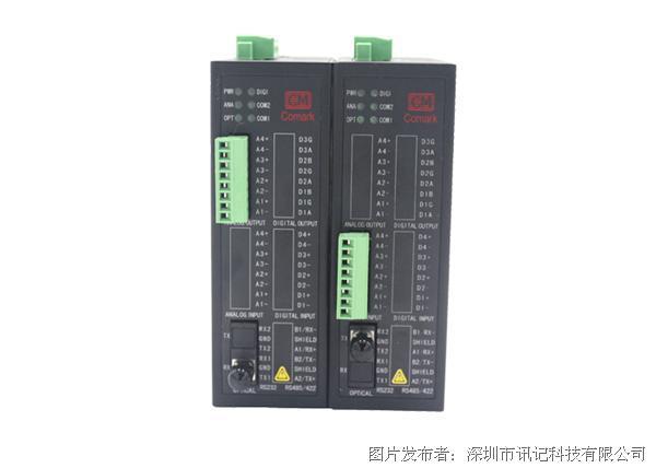 讯记CJ-AF系列工业级4-20ma电流模拟量光电转换器