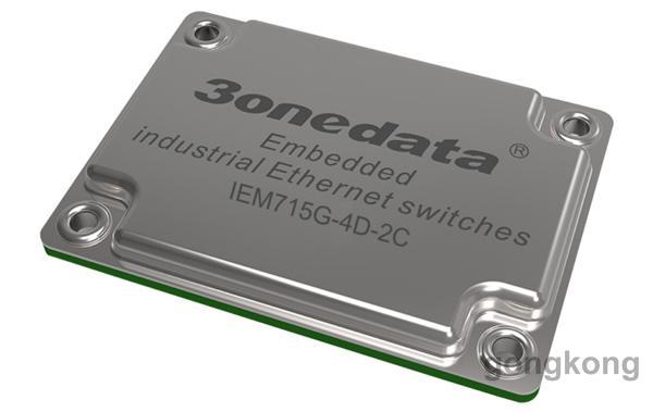 三旺 IEM715G-4D-2C多業務接入網管型工業以太網交換機模塊