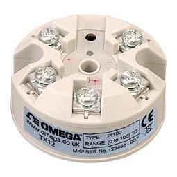 欧米茄 TX12 RTD顶部安装温度变送器