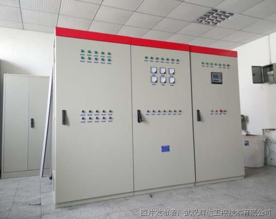 辉达工控 触摸屏PLC集中控制监控钟罩炉自动化控制柜