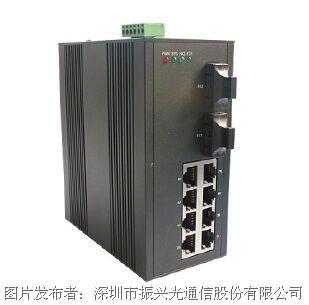 振兴通讯 OP-GY810 管理型工业级交换机