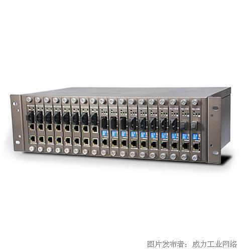ORing RMC-1000机架式光电转换器机箱