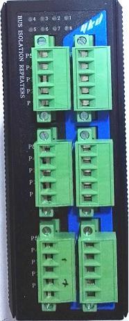 易控达 协议型CAN总线隔离中继器(6电口)