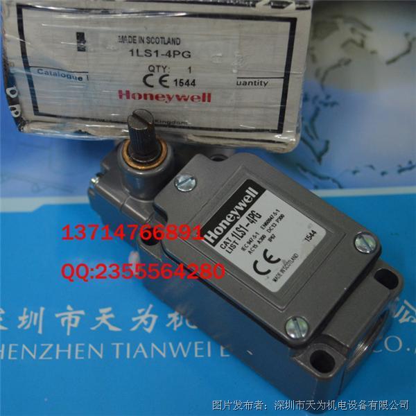 Honeywell  LS系列1LS1-4PG中型限位开关