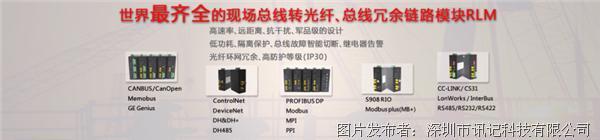 訊記 DeviceNet總線光電轉換器(可環網)