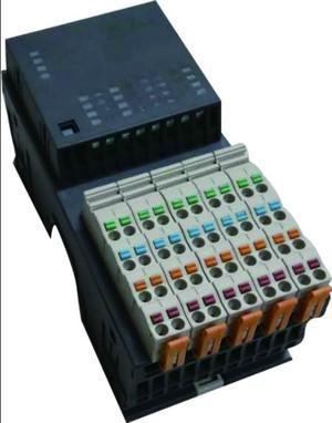 开疆智能 16点PLC数字量输入/输出混合模块