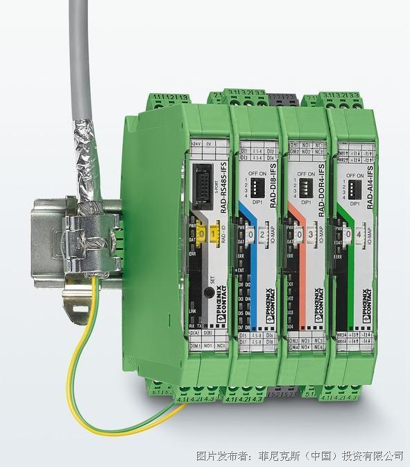 菲尼克斯 支持有线网络的无线系统