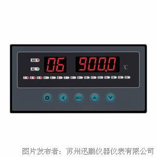 苏州迅鹏WPL16-A型16通道温度巡检仪