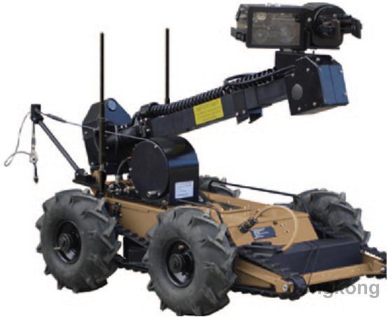 中泰恒通MK 4D排爆机器人