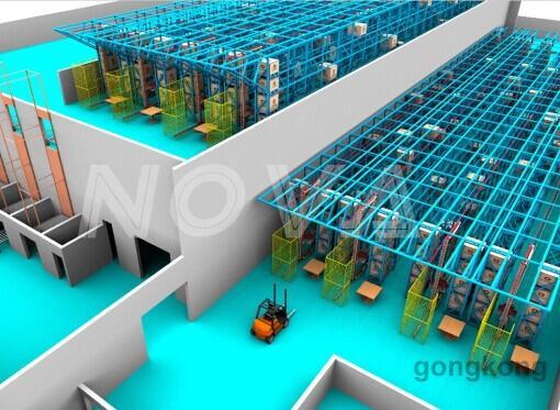 六维自动化立体仓库