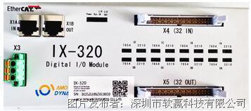 SoftServo(软赢)IX-320 - EtherCAT数字输入输出模块