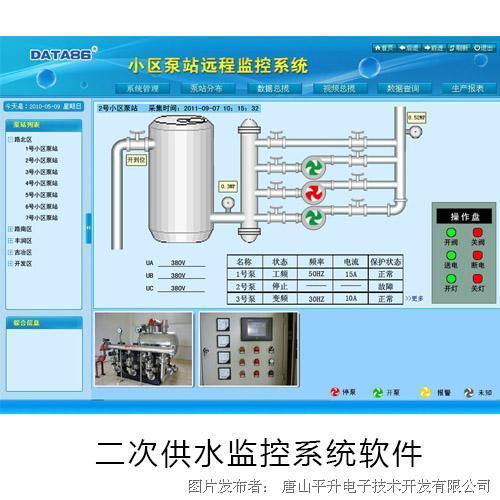 唐山平升 二次供水自动化控制