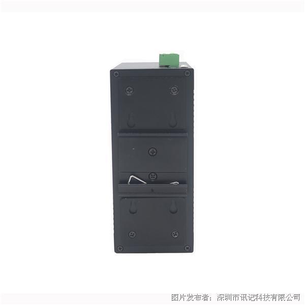 讯记CK1080 4电2光百兆非网管紧凑型8电口工业以太网交换机