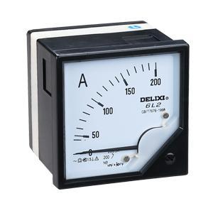 德力西电气6C2/6L2 型固定式直接作用电测量仪表