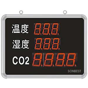 搜博SD8303B大屏温湿度、CO2显示仪