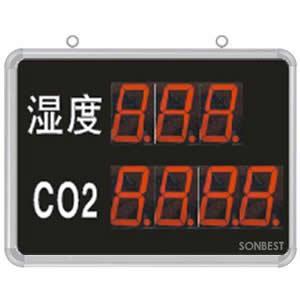 搜博SD8209B大屏LED显示湿度、CO2显示仪