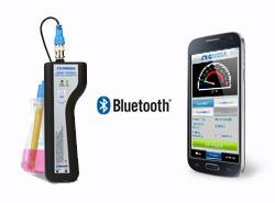 欧米茄手持蓝牙无线温度、湿度和PH变送器