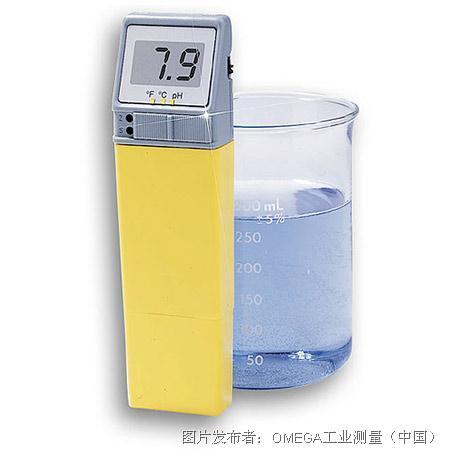 欧米茄袖珍pH测量计带可替换电极