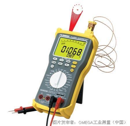 欧米茄激光瞄准非接触式温度测量技术三表合一