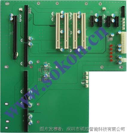 硕控PCIE-1011P4E6工业底板