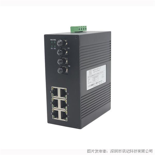 訊記CK1062非管理型工業以太網交換機