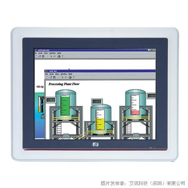 艾讯科技GOT5120T-845 12.1寸IP65无风扇触控平板