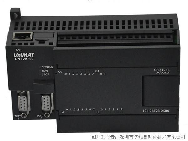UniMAT亿维UN 124-2BE23-0XB0 CPU