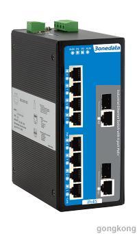 三旺IPS7110-2GC-4POE/8POE网管型工业以太网POE交换机