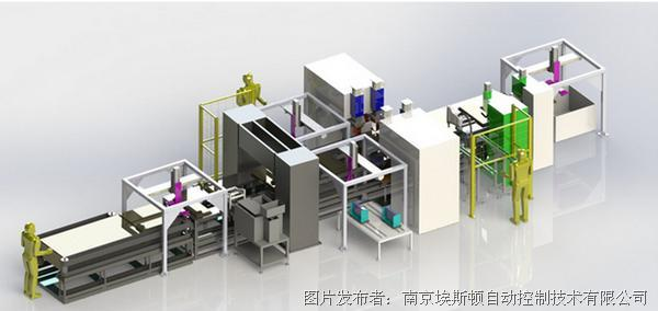 埃斯頓 空調智能化焊接生產線