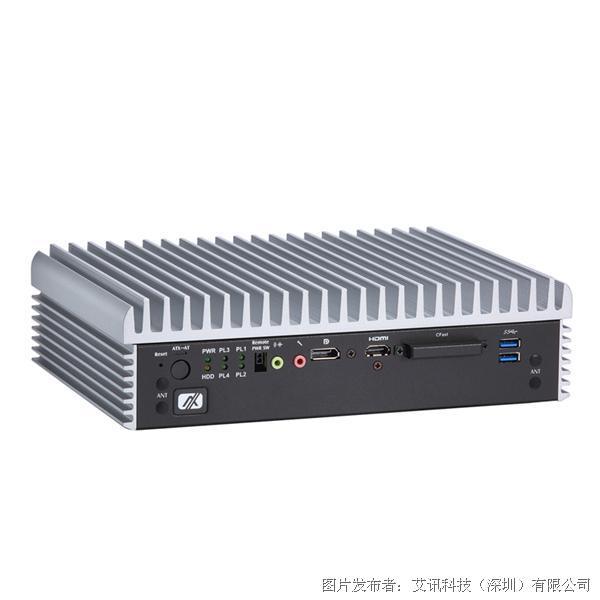 艾讯科技eBOX670-891-FL无风扇嵌入式系统