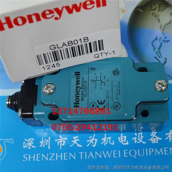 Honeywell霍尼韦尔GLAB01B,GLAB01C限位开关