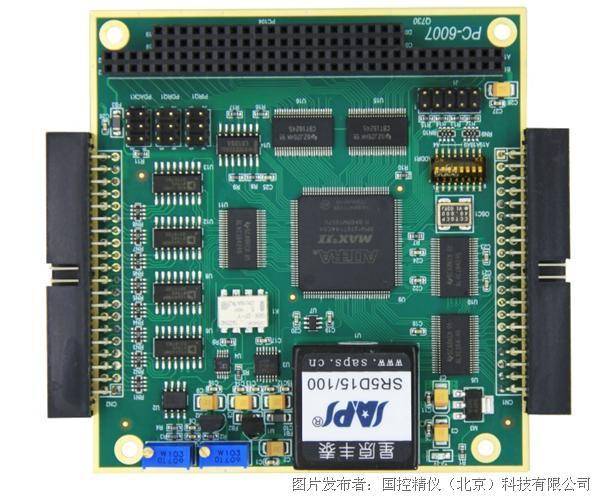 国控精仪 PC-6007 32通道AI 16通道DO IO卡