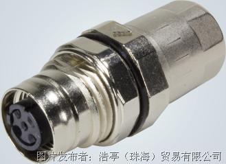 浩亭M12 PushPull连接器