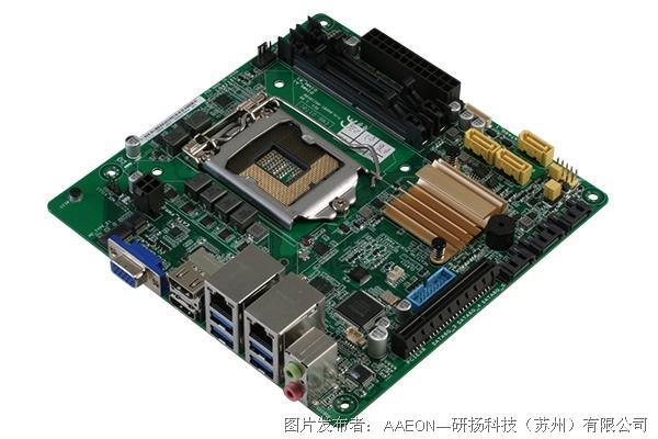 研扬科技  EMB-Q170C 嵌入式工控母板