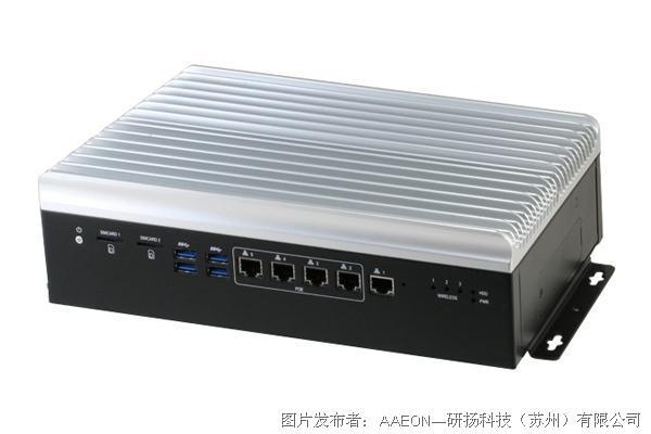研扬科技 VPC-5500S车载网路硬盘录像机平台