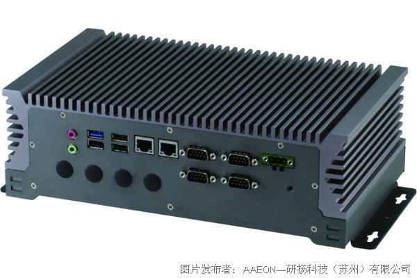 研扬科技 BOXER-6313 无风扇车载控制器