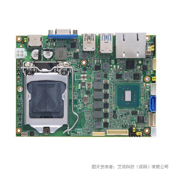 艾讯科技CAPA500 3.5寸Kaby Lake嵌入式主机板