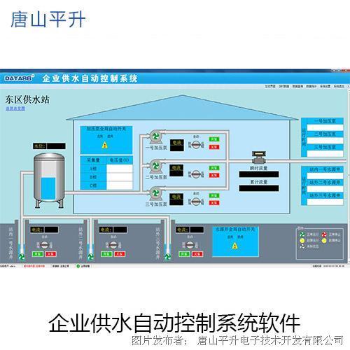 唐山平升 生产供水自动化监控系统(赤峰市大井子矿业)