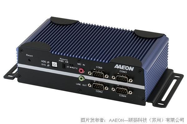 研扬科技BOXER-6616无风扇嵌入式控制器