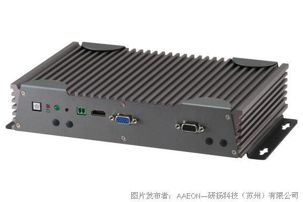 研扬科技 BOXER-6301VS 无风扇嵌入式控制器