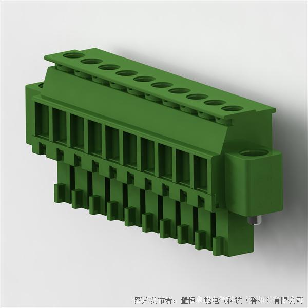 卓能插拔式接线端子PGF-381R插头