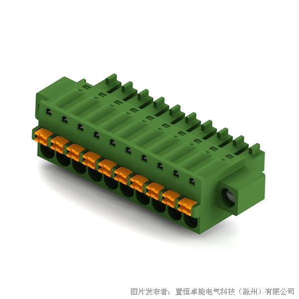卓能弹簧式接线端子KPGF-381插头