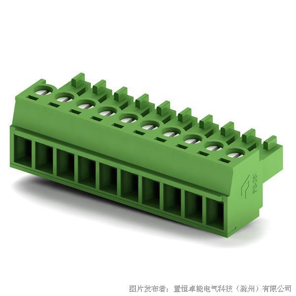 卓能插拔式接线端子PG-381插头